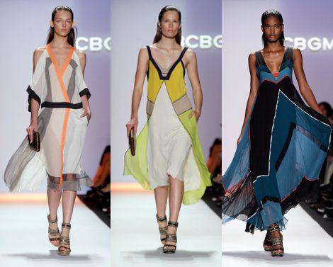 Diseños de BCBG Max Azria para primavera de 2012