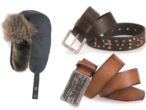 Los accesorios imprescindibles de Levi's para este invierno: cinturones y gorros de pelo