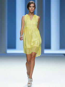 Sita Murt propone en Cibeles una colección primavera 2012 muy 'sporty chic'