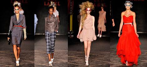 Diseños de Vivienne Westwood para primavera de 2012