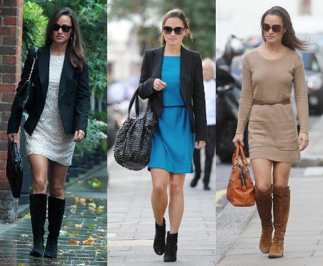 Looks de Pippa Middleton en otoño de 2011
