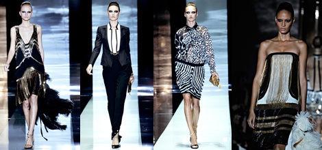 Diseños de Gucci para primavera de 2012