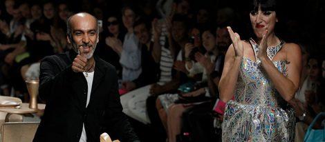 Rossy de Palma, estrella invitada en el desfile de Manish Arora en la Semana de la Moda de París