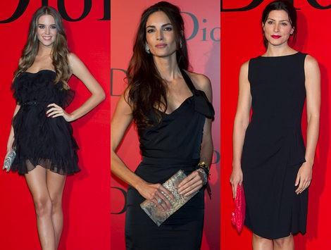 Eugenia Silva y Martín Rivas, entre los mejor vestidos en la fiesta Dior