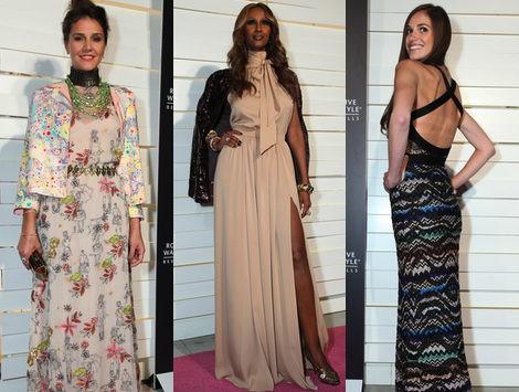 Las mejor vestidas en la fiesta de moda en honor a Iman y Missoni
