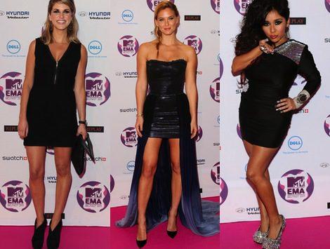 Irina Shayk y Jade Thompson, entre las más acertadas en la gala MTV EMA 2011