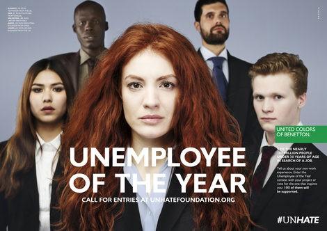 Imagen de la campaña 'Unemployee of the year'