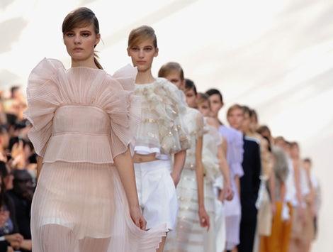 Desfile de Chloé pirmavera/verano 2013 en la Semana de la Moda de París