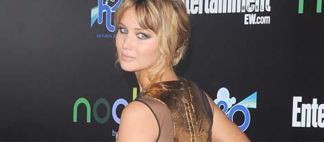 Jennifer Lawrence, sencilla pero seductora