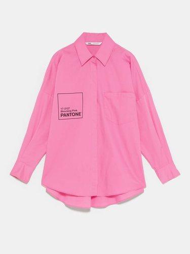 Zara te permite escoger el color y la prenda