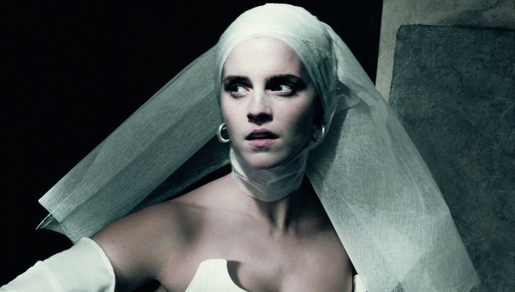Emma Watson en el papel de Julieta en el calendario Pirelli 2020