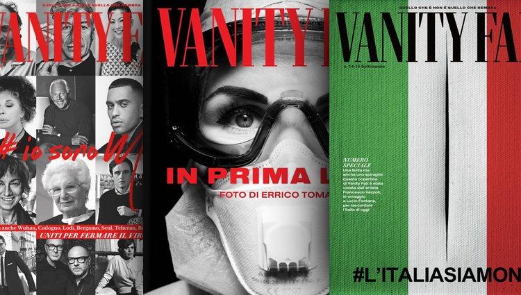 Vanity Fair Italia en homenaje a su país ante la lucha contra el coronavirus