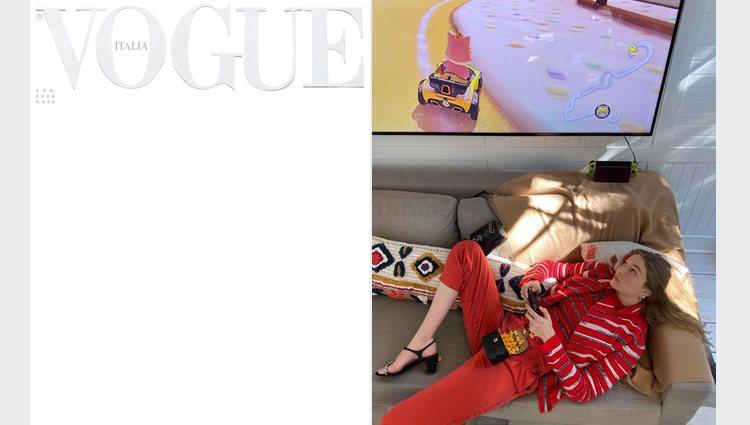 Vogue Italia y su portada histórica