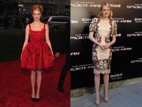 Emma Stone, la mejor vestida segun Vogue