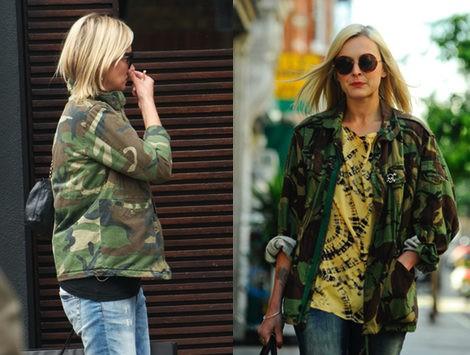 Kate Moss y Fearne Cotton apuestan por el print de camuflaje