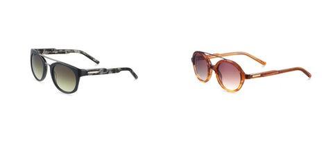 Modelos de la colección invierno 2013 de Custo Barcelona Eyewear