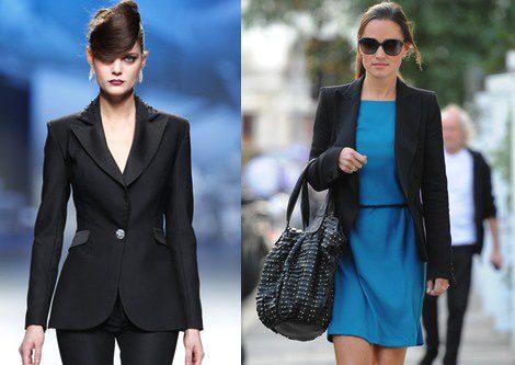 Trajes de chaqueta en negro