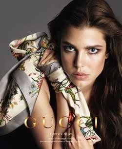 Carlota Casiraghi posa para Gucci