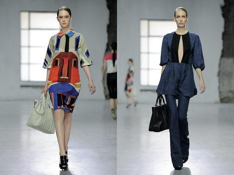 Dos looks de Longchamp para la primavera 2013