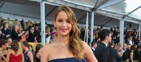Jennifer Lawrence en los SAG 2013