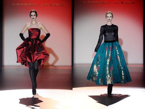 Dos diseños de Hannibal Laguna en la Madrid Fashion Week