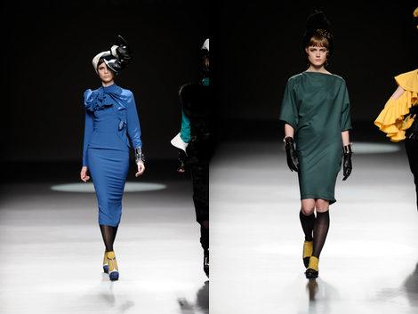 Vestidos de la colecció otoño/invierno 2013/2014 de María Barros