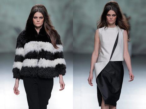 Devota & Lomba apuesta por la combinación black&white