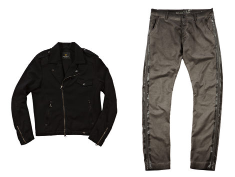 Chaqueta y pantalón de la colección primavera/verano 2013 de Replay