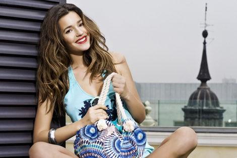 Malena Costa, imagen de la colección primavera/verano 2013 de Refresh