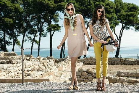 Dos de los looks de Indi & Cold para esta primavera/verano 2013
