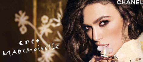 Keira Knightley en una campaña para Chanel