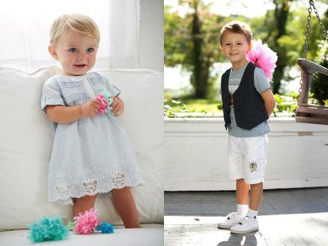 Looks de la colección 'My First Chicco' y 'My Chicco' para la primavera/verano 2013