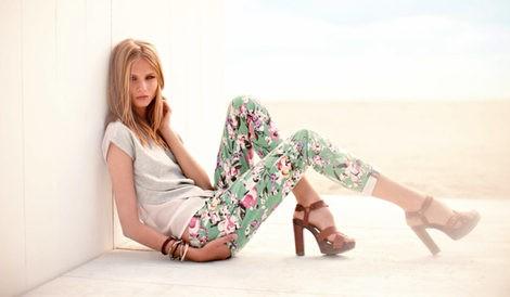 Anna Selezneva presenta la casual colección primavera/verano 2013 de Calliope