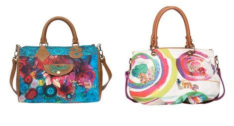 Dos bolsos modelos 'Doctor Bag' de Desigual