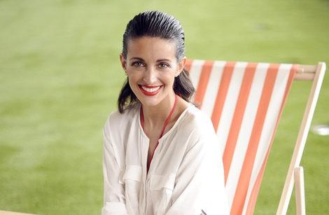 Noelia López posando para la colección 'Descúbrete' de Dolores Cortés y Special K