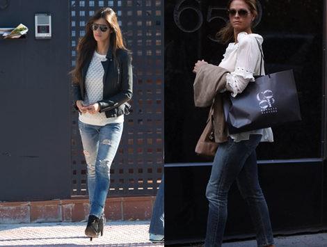 Looks casual de Sara Carbonero y la princesa de Suecia