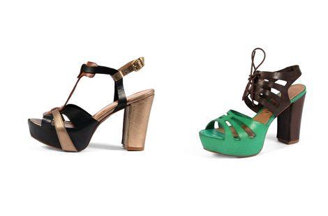 Sandalias de la colección primavera/verano 2013 de Sixtyseven