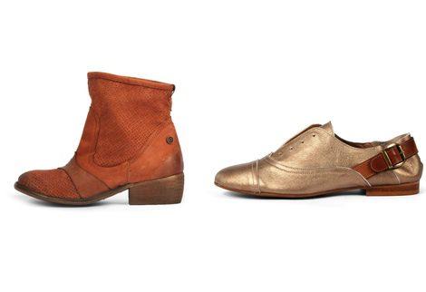 Zapatos y bota de la colección primavera/verano 2013 de Sixtyseven