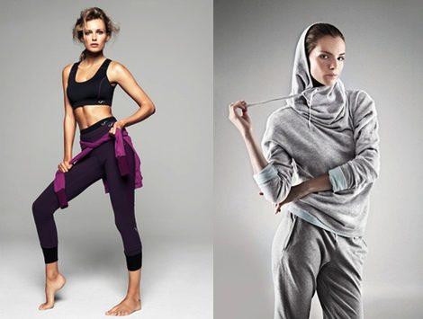 Looks de las colecciones 'Mango Sport' y 'Mango Yoga' de Mango