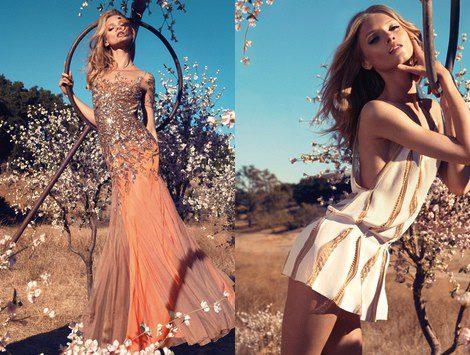 Imágenes de la campaña primavera/verano 2013 de Bluemarine