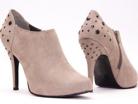 Nude Bekia Zapatos De Guía Moda Estilo p4U1SqwxC