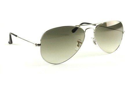 Gafas de sol de aviador grises con lente polarizado