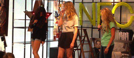 Selena Gomez en la presentación de 'Neo Label' en Berlín