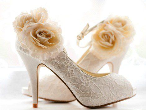 Puedes personalizar tus propios zapatos de novia