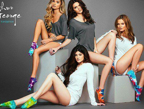Kendall y Kylie Jenner para Arthur George