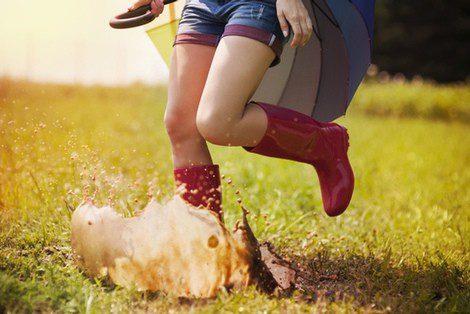 Protege tus pies del agua y el barro con unas botas de agua