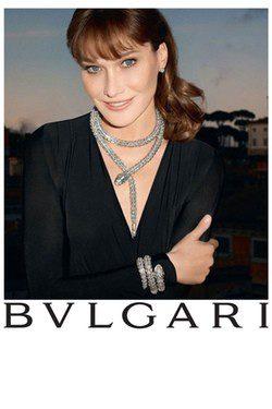 Carla Bruni para Bulgari