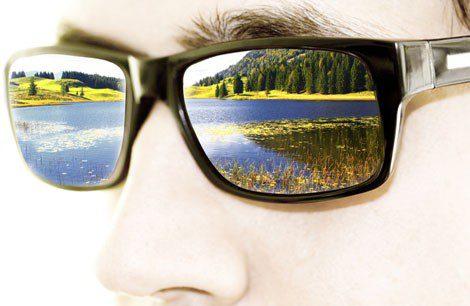 Las monturas y los cristales, criterios para conocer los tipos de gafas efecto espejo