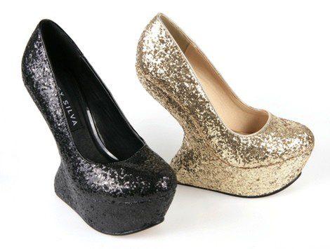 Zapatos con plataforma de la coleccición primavera/verano 2013 de Alex Silva