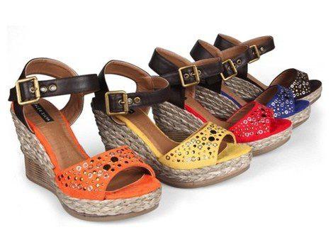 Sandalias con cuña de la colección primavera/verano 2013 de Alex Silva